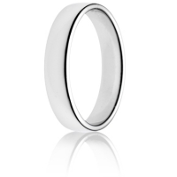 4mm Light Weight Double Comfort Wedding Ring