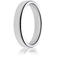 4mm Medium Weight Double Comfort Wedding Ring