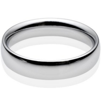 Made to order plain wedding rings in several metals, shapes and sizes