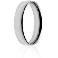 5mm Medium Weight Court Wedding Ring