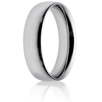 6mm Heavy Weight Court Wedding Ring