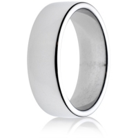 7mm Medium Weight Double Comfort Wedding Ring