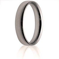 4mm Medium Weight Court Wedding Ring