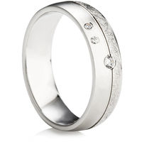Ladies Decorative Diamond Wedding Ring