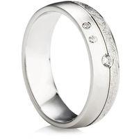 Ladies Decorative Diamond Wedding Ring