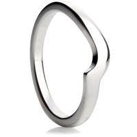 Twist Shaped Wedding Ring