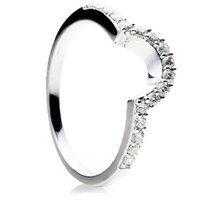 Brilliant cut diamond shaped wedding ring