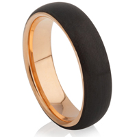 Tungsten Carbide Ring With IP Plating