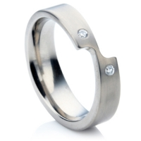 Titanium Shaped Ring