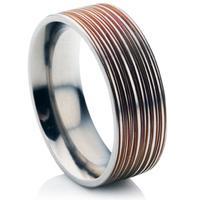 Mens Decorative Titanium Wedding Rings Wedding Rings Direct