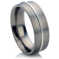 Multi Metal Wedding Ring.