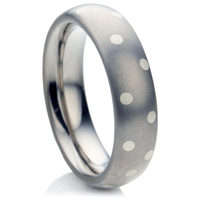 Multi Metal Decorative Wedding Ring.