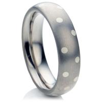 Multi Metal Decorative Wedding Ring.