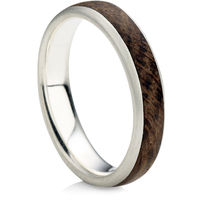 Wooden Sandcast Rock Rings Decorative