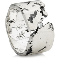 Wide Rock Wedding Ring for Men