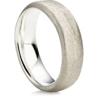Sandcast  Wedding Ring
