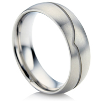 Steel Wedding Ring