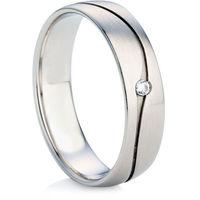 White Gold Diamond Set Wedding Ring