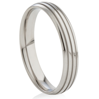 Steel Ring with Channels