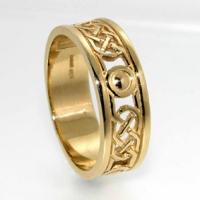 7mm Celtic design ring