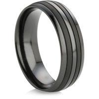 Black Zirconium Ring