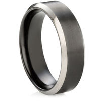Black Zirconium Ring